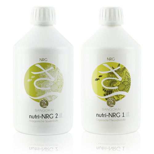 Sangokai nutri-NRG bundle 1 + 2 a 500 ml